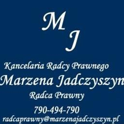 Kancelaria Radcy Prawnego Marzena Jadczyszyn - Radca Prawny - Porady Prawne Kraków