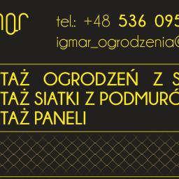 IGMAR - Siatka ogrodzeniowa Łódź