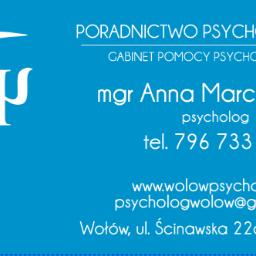 Poradnictwo psychologiczne Anna Marchlewska Gabinet pomocy psychologicznej - Leczenie Odwykowe Wołów