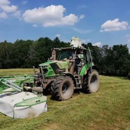 Usługi Rolnicze - Dla rolnictwa Grzmiąca