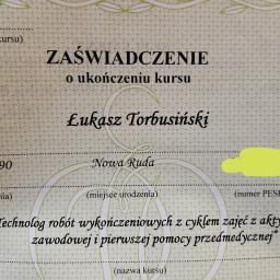 Łukasz Torbusinski - Remont łazienki Nowa Ruda