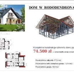 """BUDOWA DOMU """" DOM W RODODENDRONACH 2"""""""