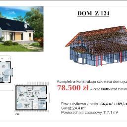 """BUDOWA DOMU """"Z-124"""""""