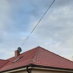prawa polać dachu zaimpregnowana