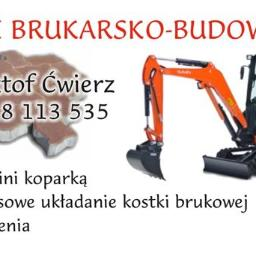 Usługi brukarsko-budowlane - Firma Układająca Kostkę Brukową Myślenice