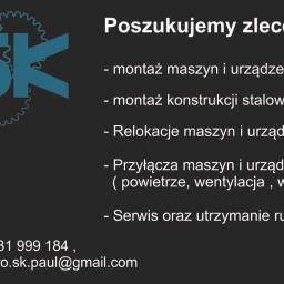 SK Sławomir Paul - Montaż Konstrukcji Stalowych Czerwieńsk