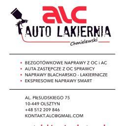 ALC Paweł Chmelewski - Przyciemnianie Szyb w Samochodzie Olsztyn