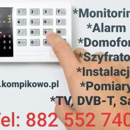 Alarmy-Monitoring Kompikowo - Alarmy Zabrze