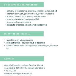 Ubezpieczenie firmy Konstantynów Łódzki 7