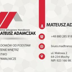 Firma handlowa usługowa Mateusz Adamczak - Remonty biur Mochy