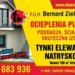 Firma Usługowo Handlowa Bernard Zieliński - Elewacje i ocieplenia Niegowa
