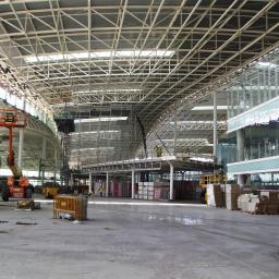 Barcelona, lotnisko El Pratt. Lindner Polska