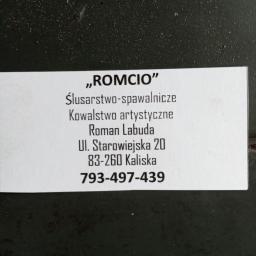 Usługi spawalnicze Romcio - Bramy wjazdowe Kaliska