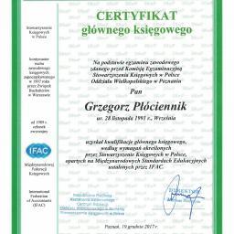 """""""P&G Finance"""" Biuro Rachunkowe Grzegorz Płóciennik - Biuro Rachunkowe Nekla"""