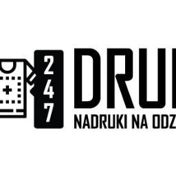 """247 DRUK"" - Nadruki na odzieży - Nadruki na odzieży Nysa"