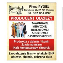 FIRMA RYGIEL MARCIN OLEŚKOWSKI - Hafciarnia Waganiec