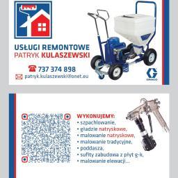 Patryk Kulaszewski Usługi Remontowe - Tapetowanie Dragacz