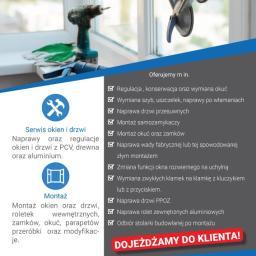 Serwis Drzwi i Okien - Okna aluminiowe Brzeziny