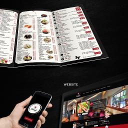 projekt strony internetowej oraz menu