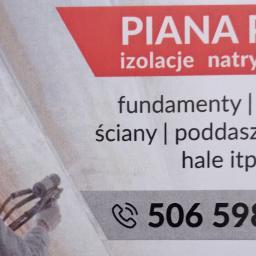 Piana pur docieplenia natryskowe - Ocieplanie Pianką PUR Luzino