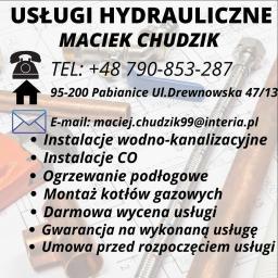 Chudzik Maciej - Instalacje sanitarne Pabianice