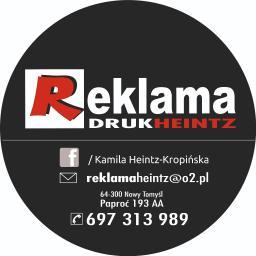 Reklama Pracownia Plastyczna Kamea Kamila Heintz-Kropińska - Naklejki Nowy Tomyśl