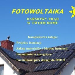INSTALACJE PV Dawid Szambelan - Ogrodnik Bugaj gmina Pobiedziska