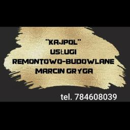 KAJPOL USLUGI REMONTOWO-BUDOWLANE MARCIN GRYGA - Zabudowa GK Oleśno