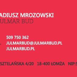 Julmar-bud, Ubezpieczenia Mrozowscy, Arkadiusz Mrozowski - Kafelkowanie Łomża