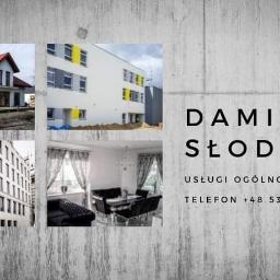 USŁUGI OGÓLNOBUDOWLANE DAMIAN SŁODCZYK - Remonty domów i kamienic Kluczewsko