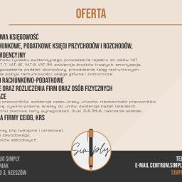 Księgowość, kadry, płace, rachunkowość, BHP - Rzeszów, podkarpackie Centrum usług SIMPLY Marzena Leśniak
