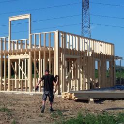 AKA domy drewniane - Montaż Blachodachówki Kolbudy