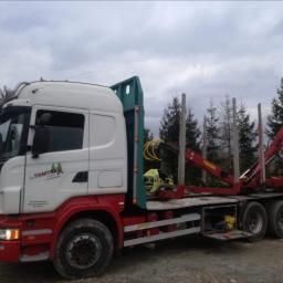 firma handlowo usługowa TOMTRAX - Firma transportowa Limanowa