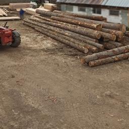 Irek Produkcja Drzewna - Skład drewna Komańcza