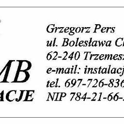 MB-Instalacje Grzegorz Pers - Projektant instalacji elektrycznych Trzemeszno
