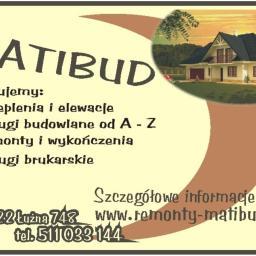 Firma Budowlano-Remontowa MATIBUD - Budowa domów Łużna, Gorlice