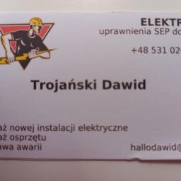 Dawid Trojsński - Projektant instalacji elektrycznych Suchy Las