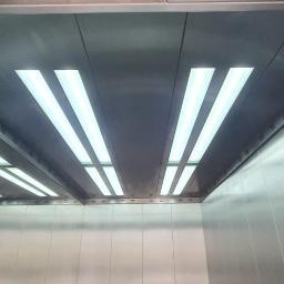 Oświetlenia kabiny, wykonane według indywidualnego projektu klienta