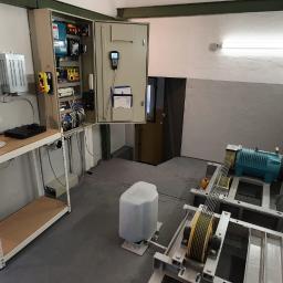 Odświeżona maszynownia z centralą monitoringu