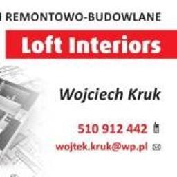 Loft Interior - Szpachlowanie Białystok