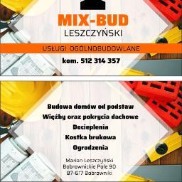 Mix-Bud Leszczyński - Elewacje Bobrowniki