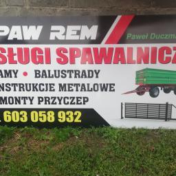 SPAW-REM - Brama Wjazdowa na Pilota Zakrzyn
