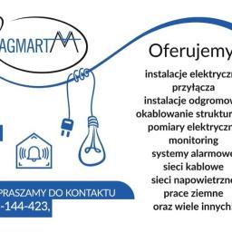 AGMART SP. Z O.O. - Oświetlenie Schodów Rypin