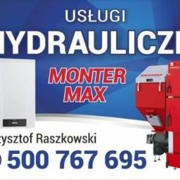 Usługi Hydrauliczne Monter-Max - Instalacje gazowe Ciechanów