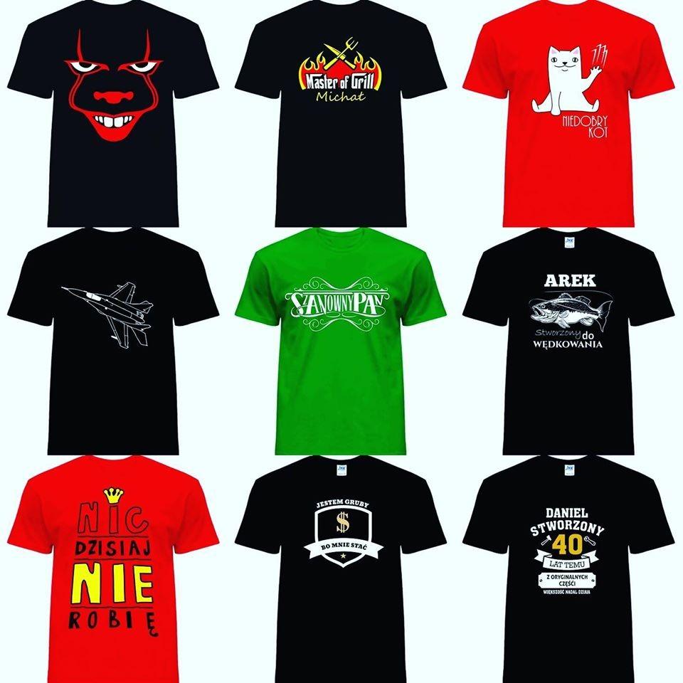 10 Najlepszych Ofert Na Koszulki z Nadrukiem w Mińsku  TMu7z