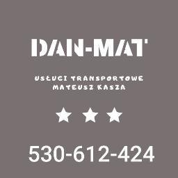 Dan-Mat Usługi Transportowe Mateusz Kasza - Przeprowadzki Chorzów
