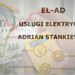 """Instalacje elektryczne """"EL-AD"""" Adrian Stankiewicz - Elektryk Olsztyn"""