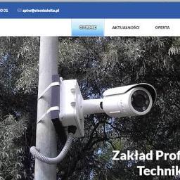 Zakład Profesjonalnej Techniki Wizyjnej ELEMIS-DELTA - Domofony, wideofony Warszawa