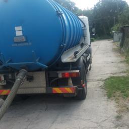 Zakład usługowy - Oczyszczanie ścieków, uzdatnianie wody Władysławów