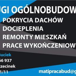 Usługi Ogólnobudowlane Mateusz Muciek - Płyta karton gips Szczecinek